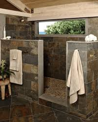 walk in shower without door for more air and light walk in showers