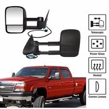 Power Heated Towing Mirrors For 03-06 Chevy Silverado GMC Sierra ...