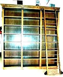 bookcases with ladder rolling ladders for bookcases rolling ladders for bookcases bookshelf with ladder and rail bookcases with ladder