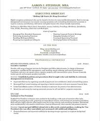 Executive Assistant Resume Template Executive Assistant Resume Custom Administrative Assistant Resume Examples