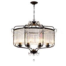 Black And Gold Light Fixture Bathroom Us 119 0 50 Off Modern Luxury E14 Gold Black Iron Crystal Glass Led Chandelier Lighting Fixtures For Loft Staircase Living Room Bathroom Lamp In