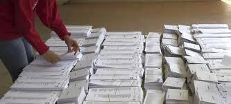 Resultado de imagen de papeletas votaciones españa