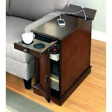 narrow end table with drawer black end tables with storage small end table with drawer end