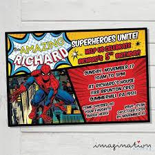 Spiderman Birthday Invitation Templates Free Spiderman Birthday Invitations New Spiderman Invitation