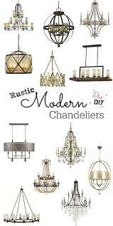 rustic modern lighting design
