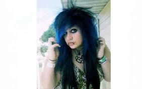 Emo Girl Hair Style emo hairstyles for girls with curly hair youtube 7710 by wearticles.com