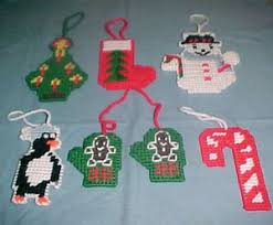 Free Plastic Canvas Christmas Patterns Inspiration Making Christmas Ornaments ThriftyFun