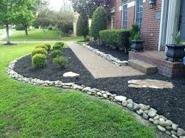 Rocks In Landscaping Beautiful River Rock Ideas Images