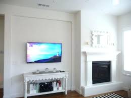 tv placement giving balance in a room without symmetry flat screen tv placement on wall led