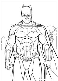 Batman Coloring Page Ideas For The House Superhero Coloring