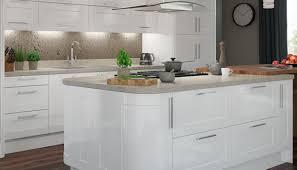 White Gloss Kitchen Worktop Corian Worktops Kitchen Worktops Magnet Trade