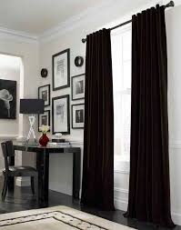 Stylish Black Curtains Bedroom Decor with Best 25 Black Curtains ...
