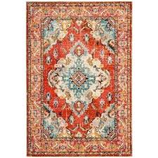 teal and orange rug orange light arianna teal orange area rug