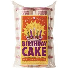 Amazing Blue Bell Birthday Cake Ice Cream