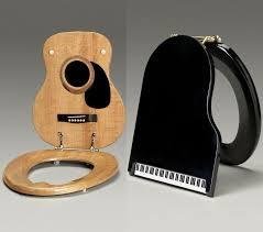 jammin johns guitar and piano toilet seats enlarge image