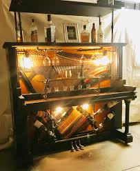 Speakeasy Piano Bar In 2019 Piano Bar Painted Pianos Piano