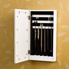 view larger wall mounted jewelry armoire8