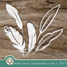 feather template feather template for laser cutting online store for laser cut