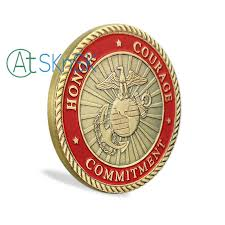 Once A Marine Always A Marine 1 3 5 10pcs U S Marine Corps Challenge Coins Semper Fidelis Once A Marine Always A Marine Honor Courage Commitment Usmc Coin
