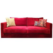 red velvet sofa. Red Velvet Sofa O