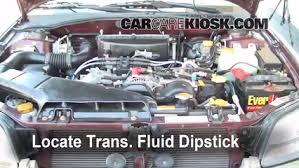 add transmission fluid 2000 2004 subaru outback 2001 subaru add transmission fluid 2000 2004 subaru outback