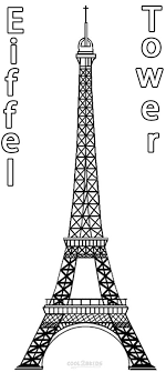 Small Picture Printable Eiffel Tower Coloring Pages For Kids Cool2bKids