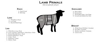lamb primal cuts. Fine Cuts Lamb Cuts Intended Primal E