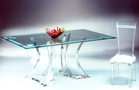 view in gallery acrylic glass desks