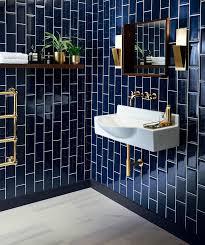blue bathroom floor tiles. Metro Deep Blue Tile Blue Bathroom Floor Tiles L