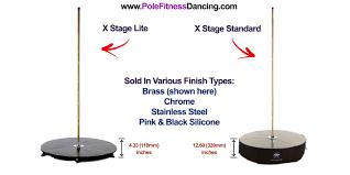 X Pole Height Chart X Pole X Stage Lite Freestanding Dance Pole Kit The Pole