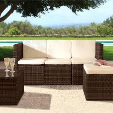3pc rattan garden patio furniture set