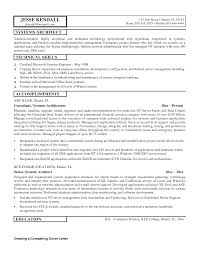 Fair Java Architect Resume Pdf About Software Architect Resume