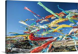 tibetan wall art colourful prayer flags under the strong wind province canvas large tibetan wall art on large tibetan wall art with tibetan wall art colourful prayer flags under the strong wind
