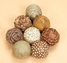 Decorative Balls For Bowl Set of 60 Decorative Balls Globe Imports 6