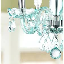 blue crystal chandelier chandeliers creative green suspension light dining room living