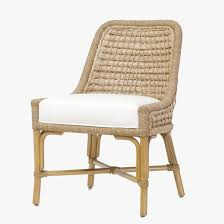 capitola side chair chairs rattan palecek dear keaton prosecco colorful dining room country armchair desks printed grey beach burdy sofa and table