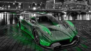 pagani zonda revolucion crystal city car