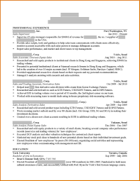 Harvard Business School Cv Template Refrence Sample Mba Resume