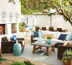 architecture and home the best of pottery barn outdoor rugs in honeycomb faux fiber indoor