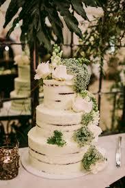 Chic Australian Wedding With Greenery And Gold Ruffled