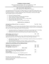 Bank Resume Template Mazard Info