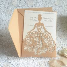 China Supplier Modern Design 3d Printing Wedding Invitation Card