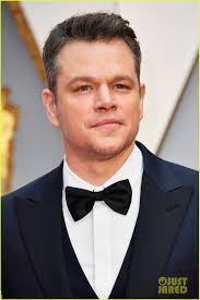 Matt Damon Spills He Doesn't Think He's a Match for Jimmy Kimmel at Oscars  2017: Photo 3866710 | 2017 Oscars, Luciana Damon, Matt Damon, Oscars  Pictures