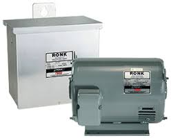 type 2d as rotoverter rotary phase converters ronk electrical Rotoverter Alternator automatic start units are supplied with a contactor and associated controls to integrate with equipment that may cycle automatically from control circuitry
