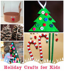12 Fun And Easy Kids Christmas Crafts To MakeEasy To Make Christmas Crafts