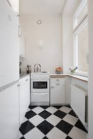 Black White Kitchen Tiles Black White Kitchen Tiles Homes Design Inspiration