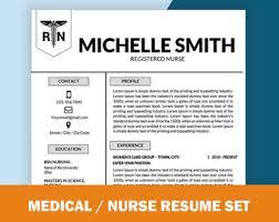 Nurse Resume Template Resume Template Nurse Medical Resume