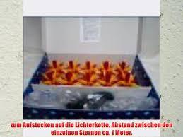 Weihnachtsstern Adventsstern Original Herrnhut Kette Für Innenaußen Kunststoff 10 Sterne A