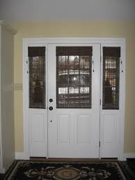 Nice Window Treatments For Patio Doors  Inspiration Home DesignsBlinds For Small Door Windows