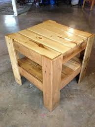 furniture made from pallet wood. pallet side table furniture made from wood